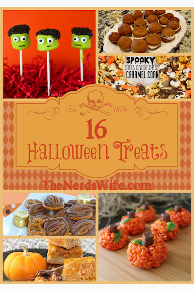 16 Yummy Halloween Treats