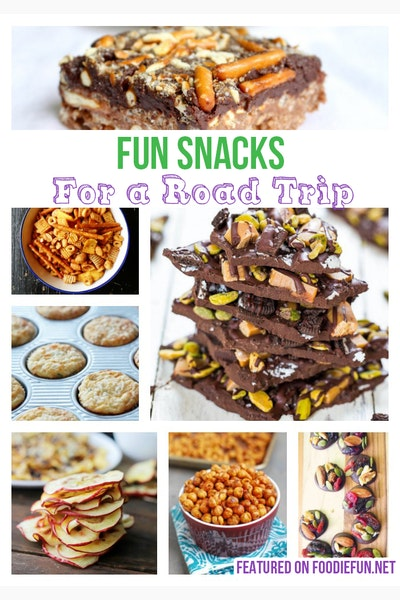20 Road Trip Snacks