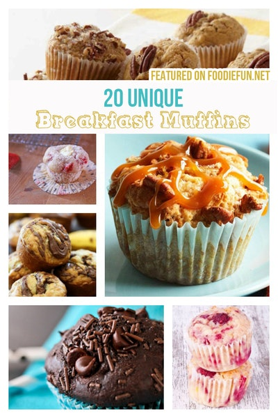20 Unique Breakfast Muffins
