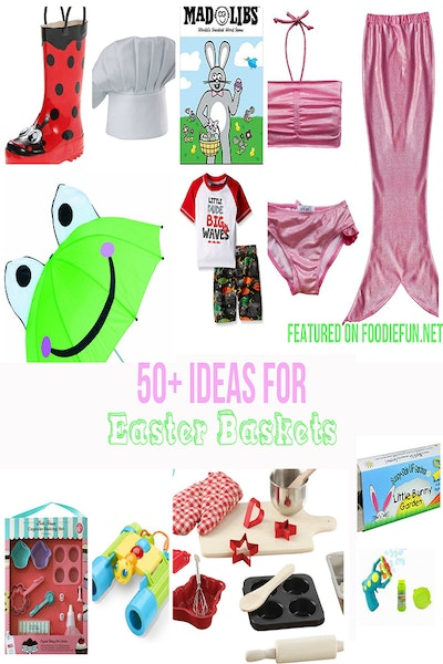50+ Easter Basket Ideas For Kids