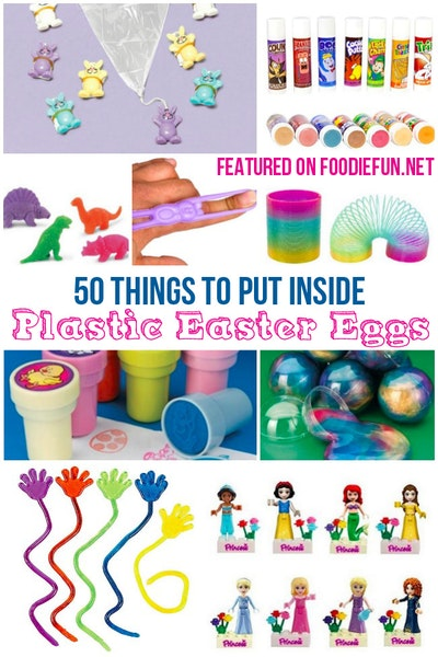 50 Non-Candy Easter Egg Ideas