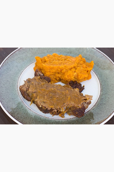 Beef Pot Roast with Maple Sweet Potatoes and Cider Gravy – Healthy Meals to Fuel the Family: Week Three
