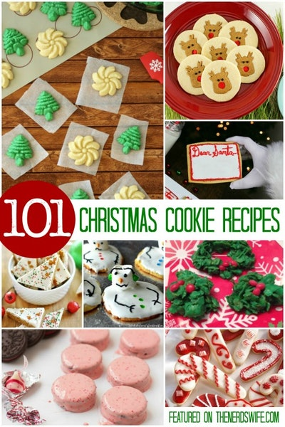101 Christmas Cookie Recipes