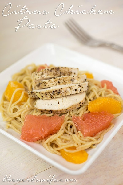 Citrus Chicken Pasta Dinner Recipe