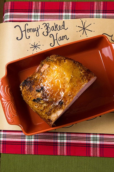 How to Dress Up a Store Bought Holiday Meal + HoneyBaked Ham Christmas Dinner
