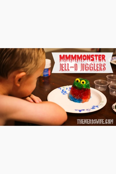 Creating Family Moments with JELL-O JIGGLERS