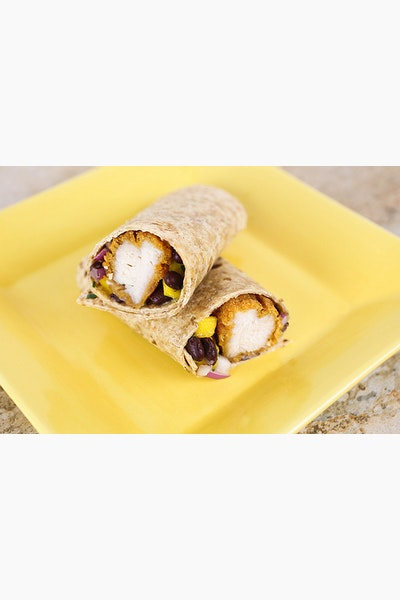 Mango and Black Bean Chicken Wraps #CBias #MealsTogether