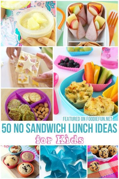 No Sandwich Lunch Ideas For Kids
