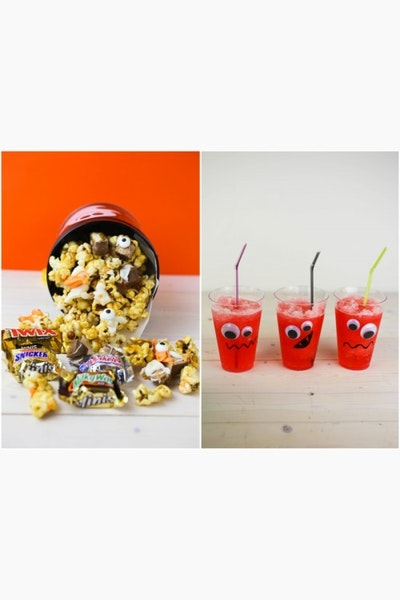 Spooky Halloween Recipes Featuring Mars Candy and Hawaiian Punch