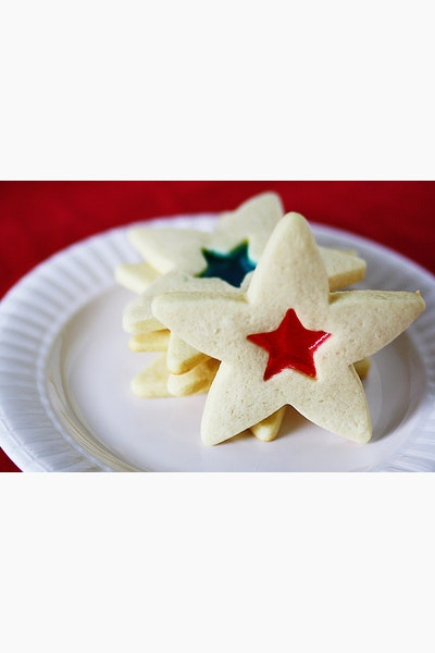 Star-Spangled Sugar Cookies